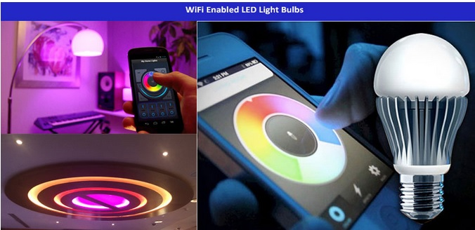 The light bulb goes Wi-Fi