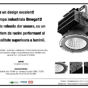 Lampa industriala Omega12