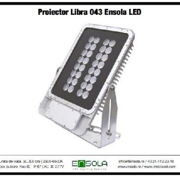 Noul proiector LED Ensola mai eficient