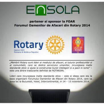 Ensola LED partener FOAR, Rotary 2241