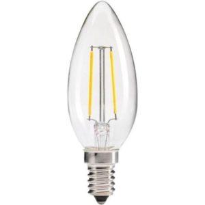 Bec LED – FILAMENT CANDELA E14