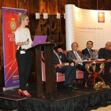 ENSOLA participare la Forumul Oamenilor de Afaceri din Rotary