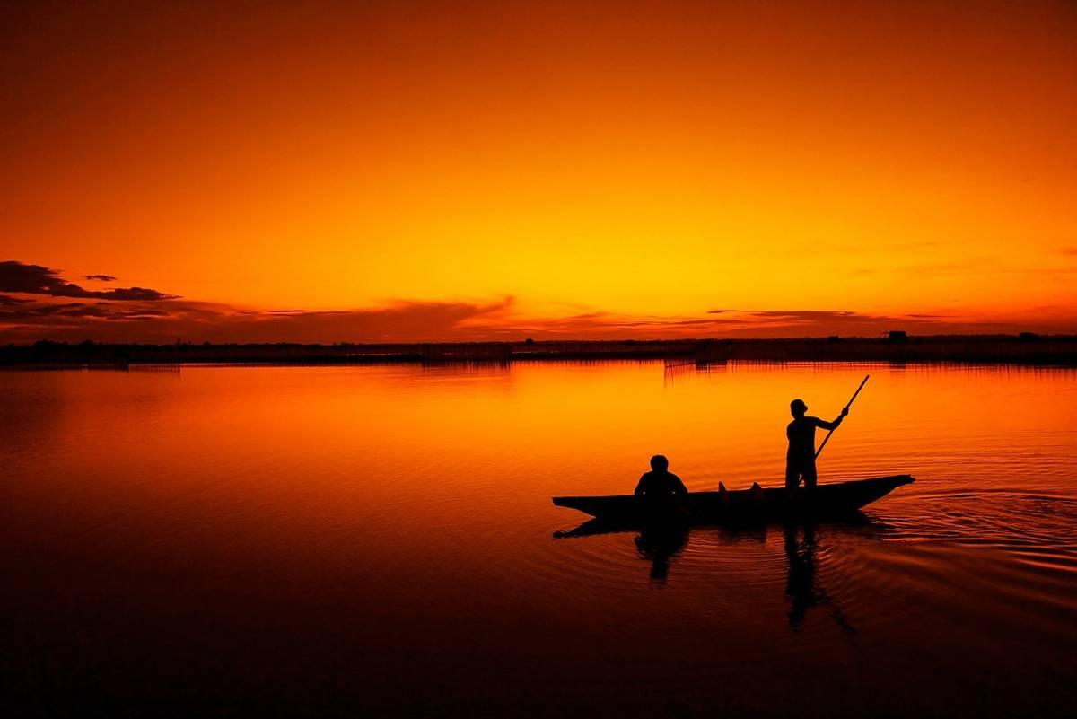 La pescuit în Deltă
