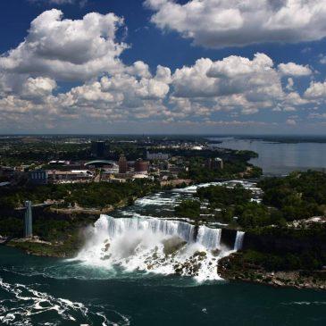 Cascada Niagara va fi iluminată cu spoturi cu LED