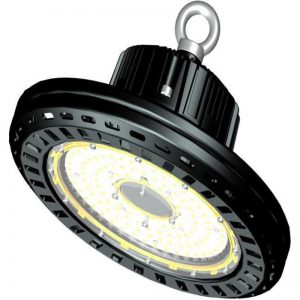 Lampa Industrială LED DELTA BLACK