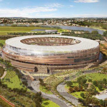 Cel mai mare sistem de iluminat sportiv cu LED va fi instalat pe Perth Stadium, Australia